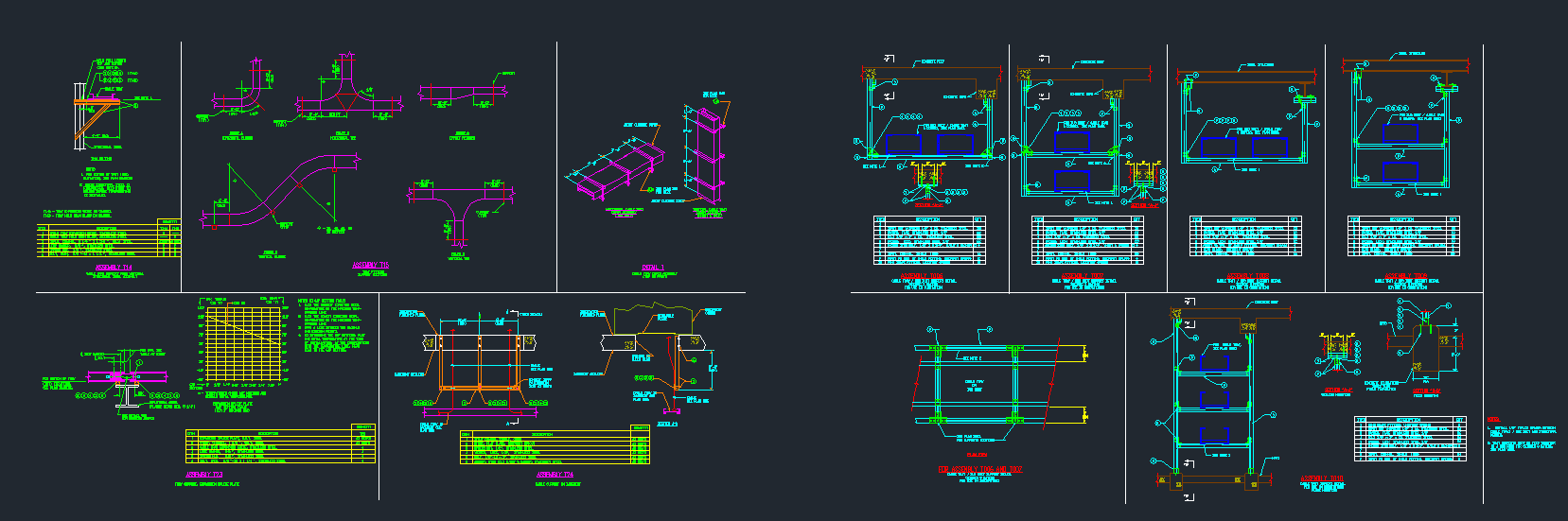 Electrical Cable Tray Installation Details - CAD Files, DWG files, Plans  and Details