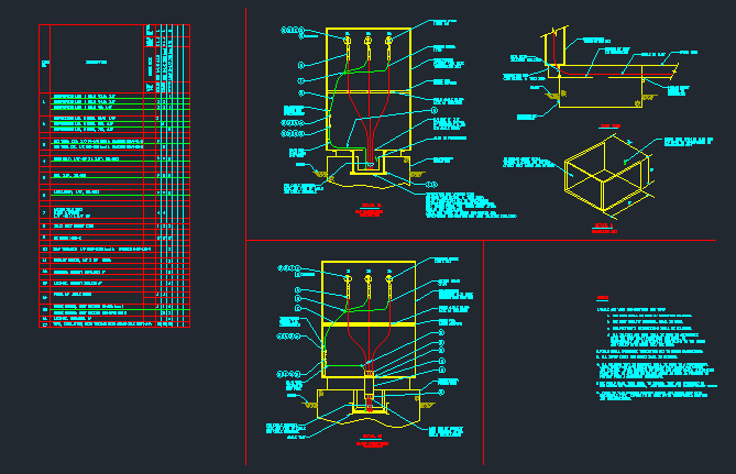 Electrical Transformer Construction & Installation Details - CAD Files, DWG  files, Plans and Details