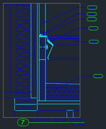 Wall Section Wood Frame W Stucco Amp Brick Cad Files Dwg Files Plans And Details
