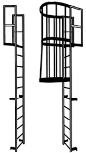 Steel Ladder Cad Files Dwg Files Plans And Details