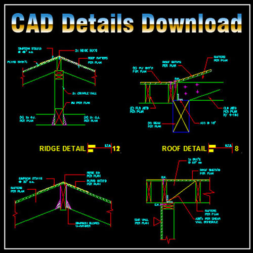 Construction Details 2】★ Cad Files Dwg Files Plans And