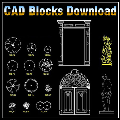Landscape Design 2d Blocks Bundle】★ Cad Files Dwg Files