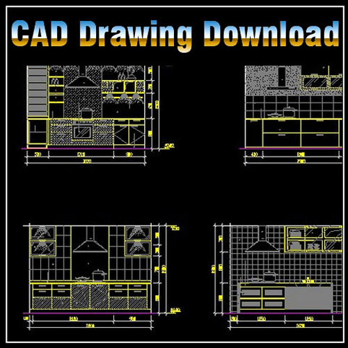 Kitchen design template cad files dwg files plans for Dwg templates free download