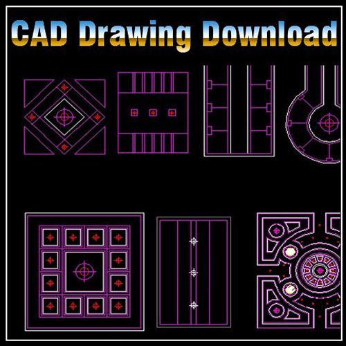 dwg templates free download - ceiling design template cad files dwg files plans