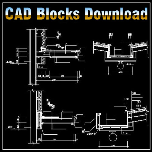 Steel Structure Blocks Bundle】★ Cad Files Dwg Files