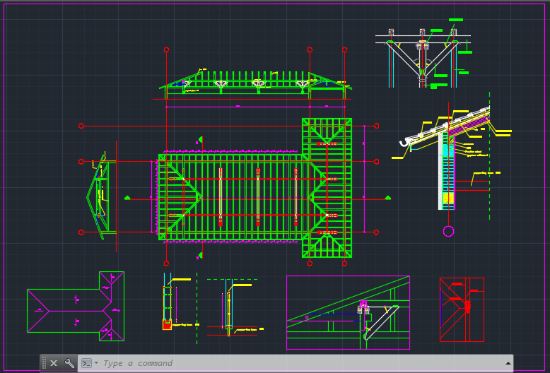 Wooden Roof Cad Files Dwg Files Plans And Details