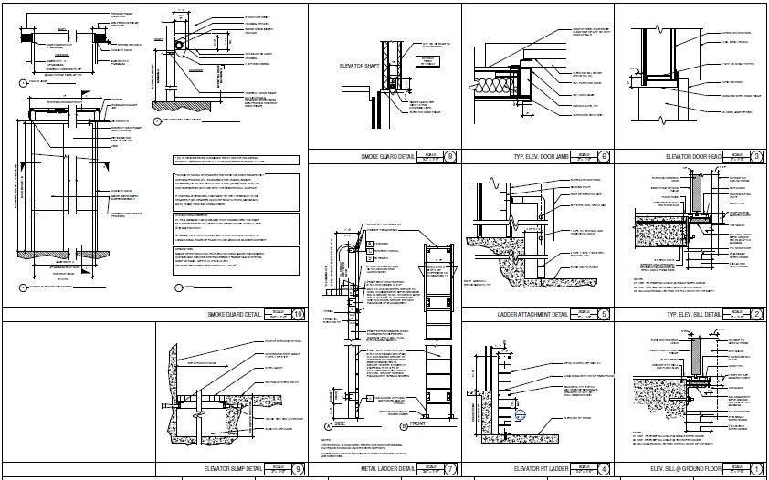 Typical Elevator Details Cad Files Dwg Files Plans And