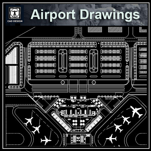 Airport Design Drawings Cad Files Dwg Files Plans