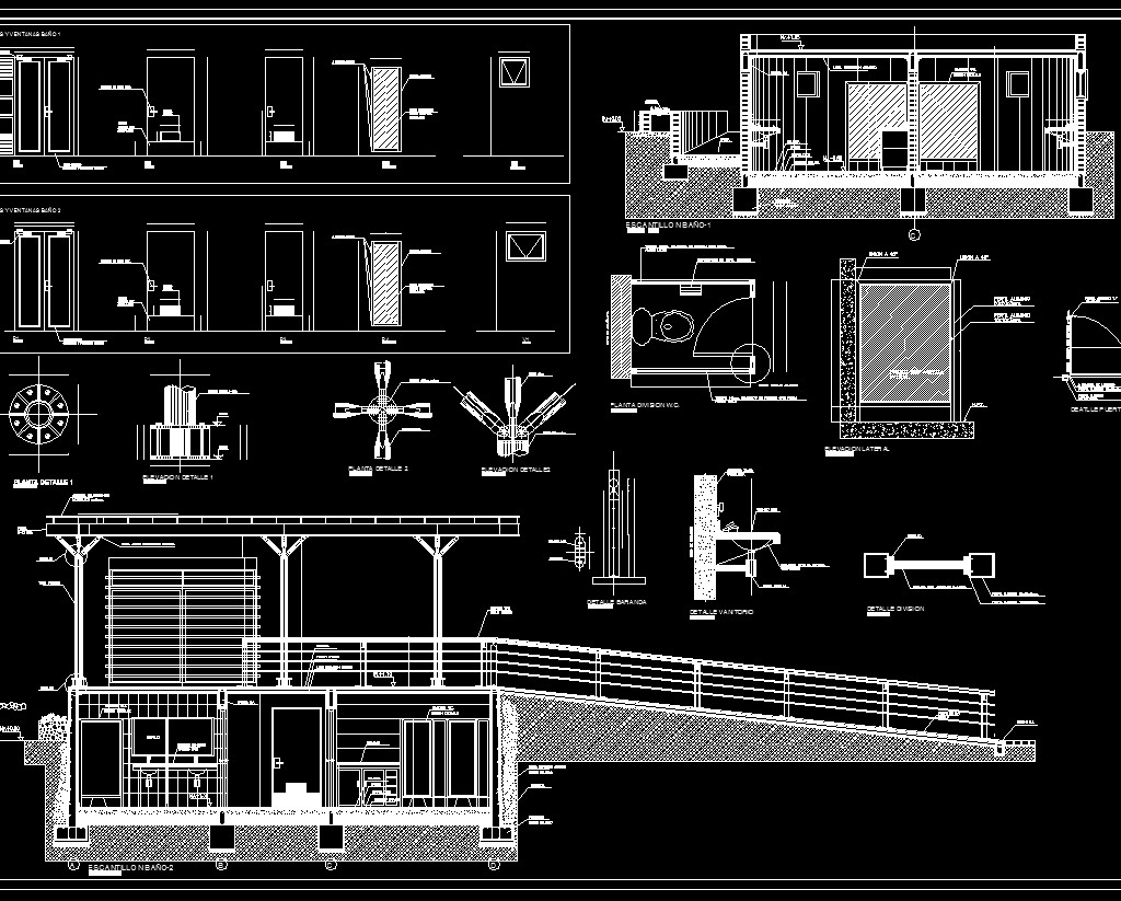★【Plumbing Details】★ - CAD Files, DWG files, Plans and Details