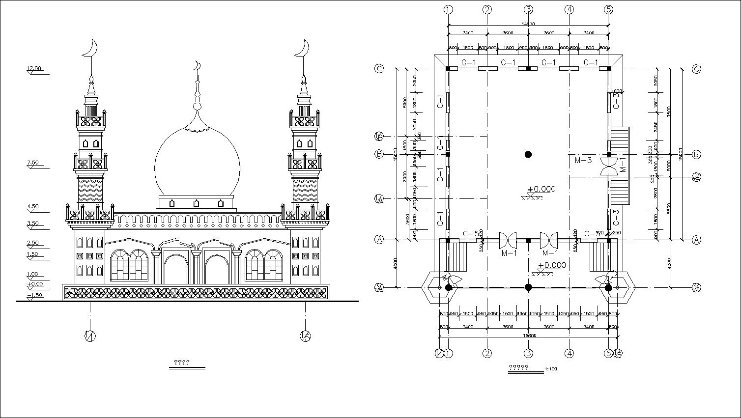 mosque drawings u3011 u2605