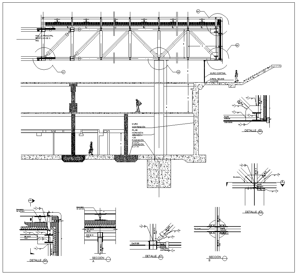 ★【Steel Structure Details V5】★ - CAD Files, DWG files, Plans and Details