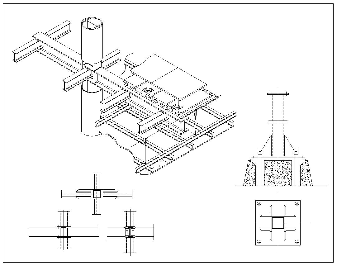 steel structure details v6 u3011 u2605