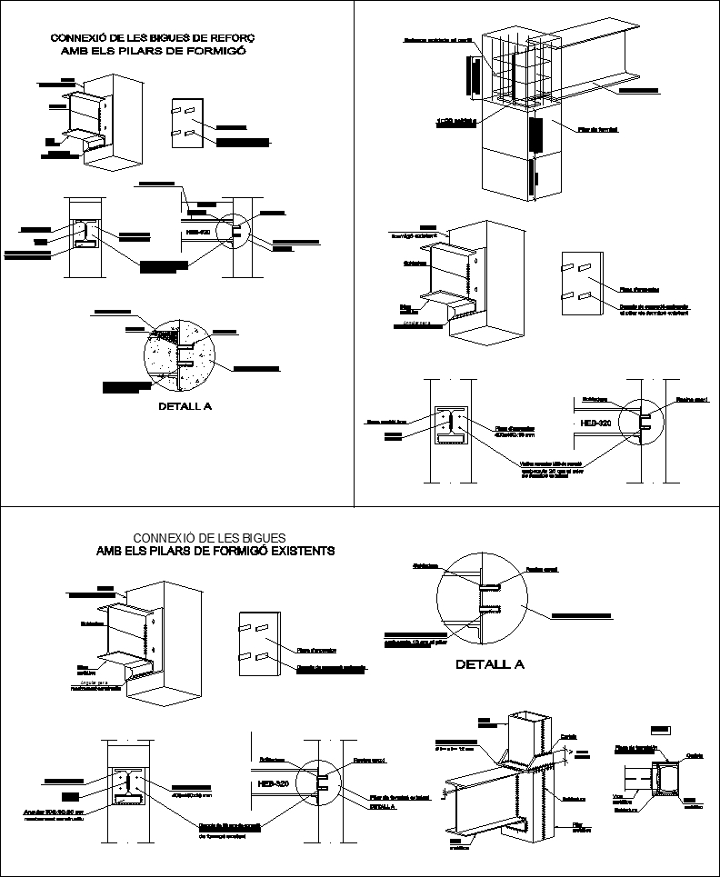 Steel Structure Details V4 Cad Files Dwg Files Plans And
