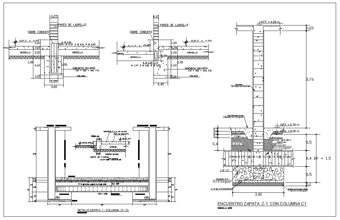 ★【Foundation Details V1】★ - CAD Files, DWG files, Plans and Details