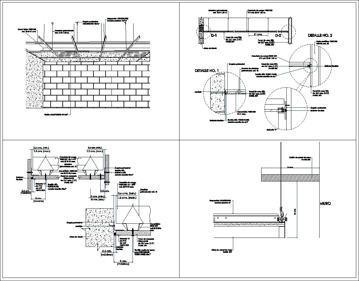 Ceiling Details V1】★ - CAD Files, DWG files, Plans and Details