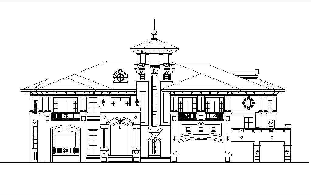 luxury villa plans 4 u3011 u2605