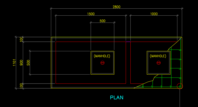DETAIL OF SEPTIC TANK, DETAIL OF CATCH BASIN - CAD Files, DWG files, Plans  and Details