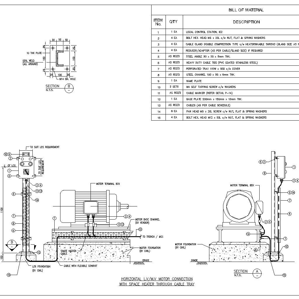Weg Motor Space Heater Wiring Diagram