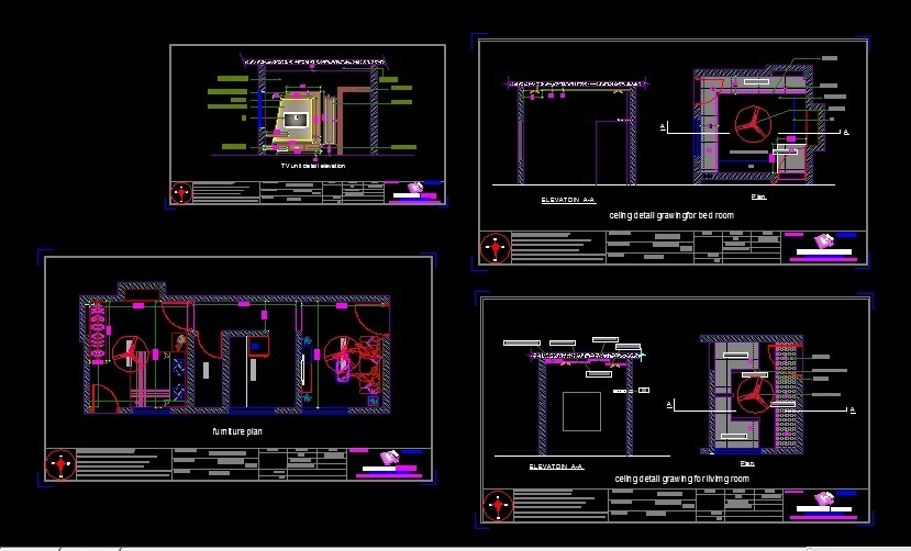 Interior Design Cad Files Dwg Files Plans And Details