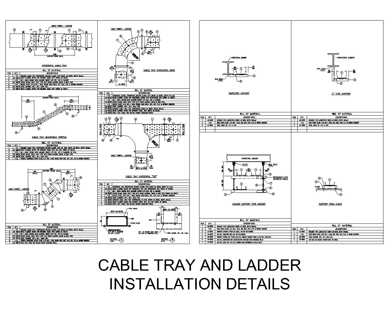 Traffic Light Ladder Diagram Schematics Data Wiring Diagrams Cable Tray And Installation Details Cad Files Dwg Plans Psim