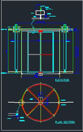 Revolving Door Cad Files Dwg Files Plans And Details