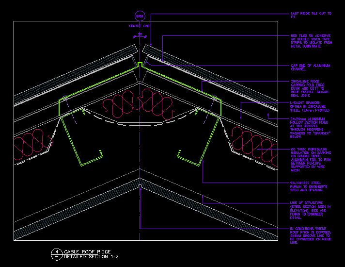 Typical Roof Details Cad Files Dwg Files Plans And Details