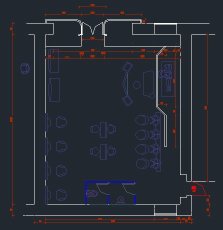 Magnificent Beauty Salon Cad Files Dwg Files Plans And Details Download Free Architecture Designs Intelgarnamadebymaigaardcom