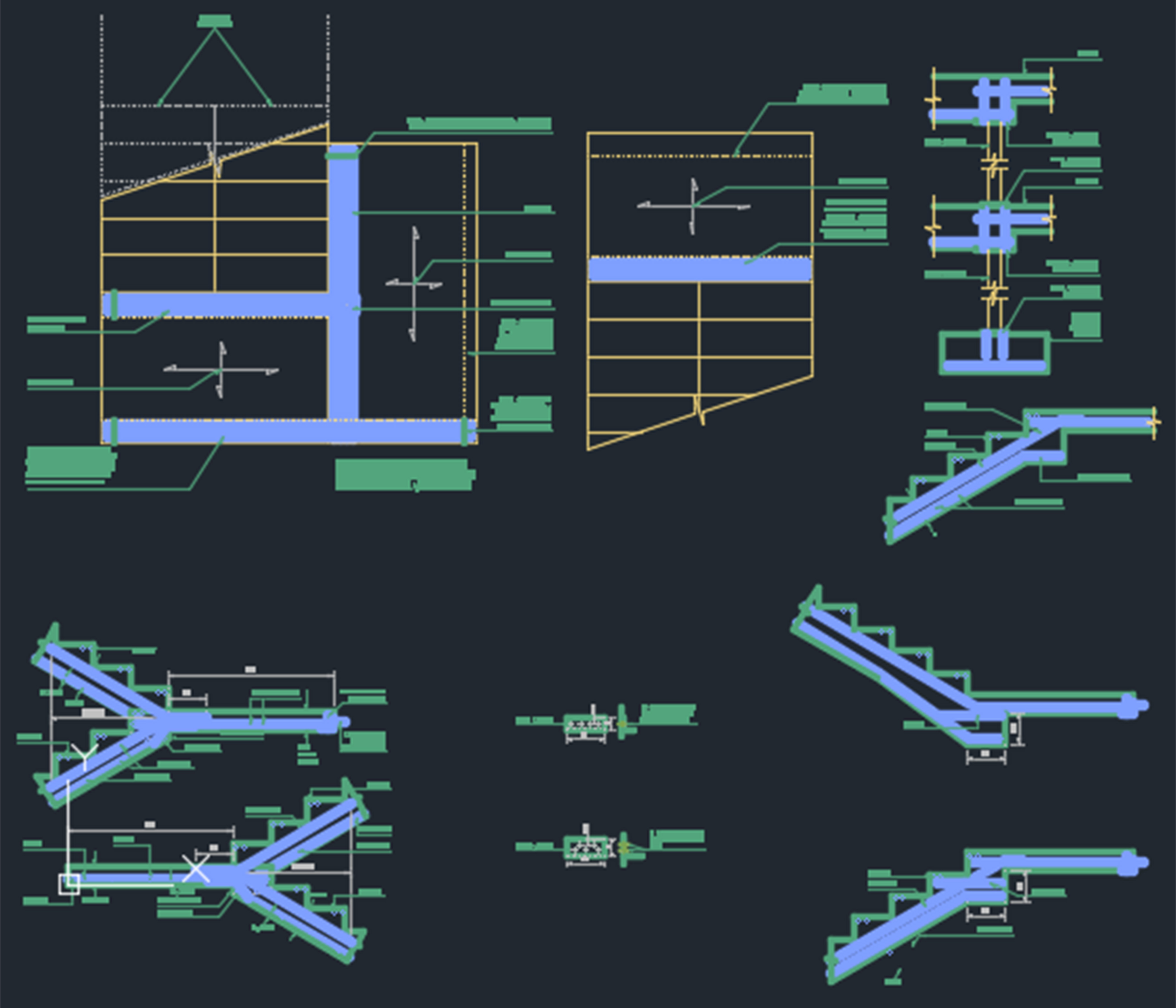 Stairs detail - CAD Files, DWG files, Plans and Details