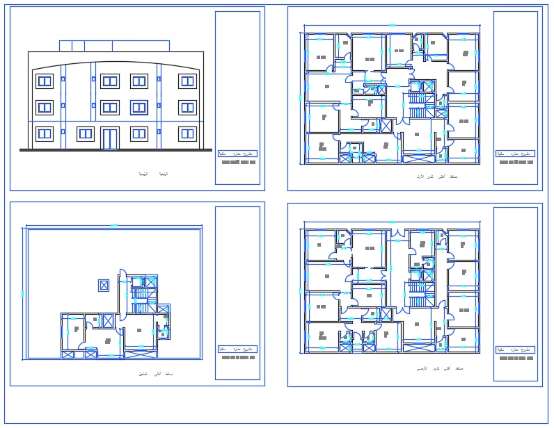 Apartment Cad Files Dwg Files Plans And Details