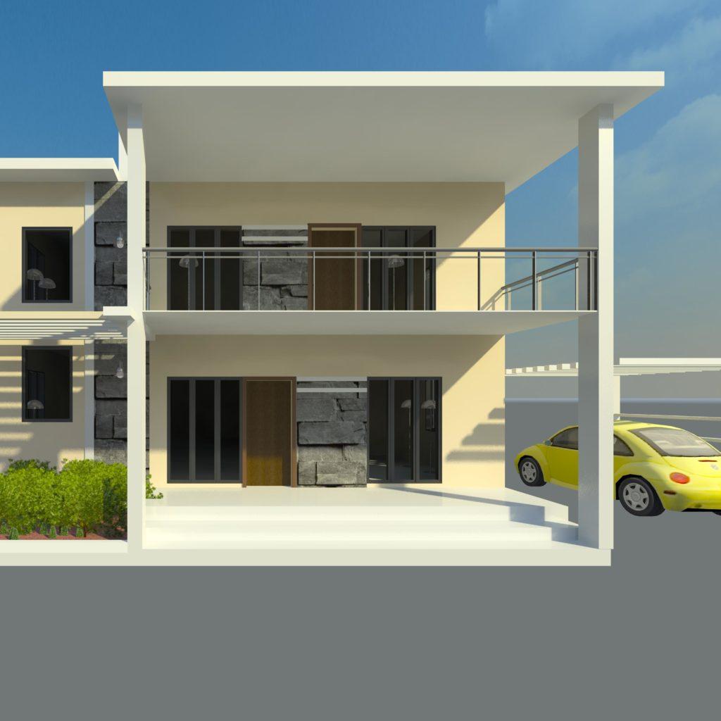 Exterior House Design Programs: COMPLETE REVIT FILE OF EXTERIOR RESIDENTIAL BUILDING