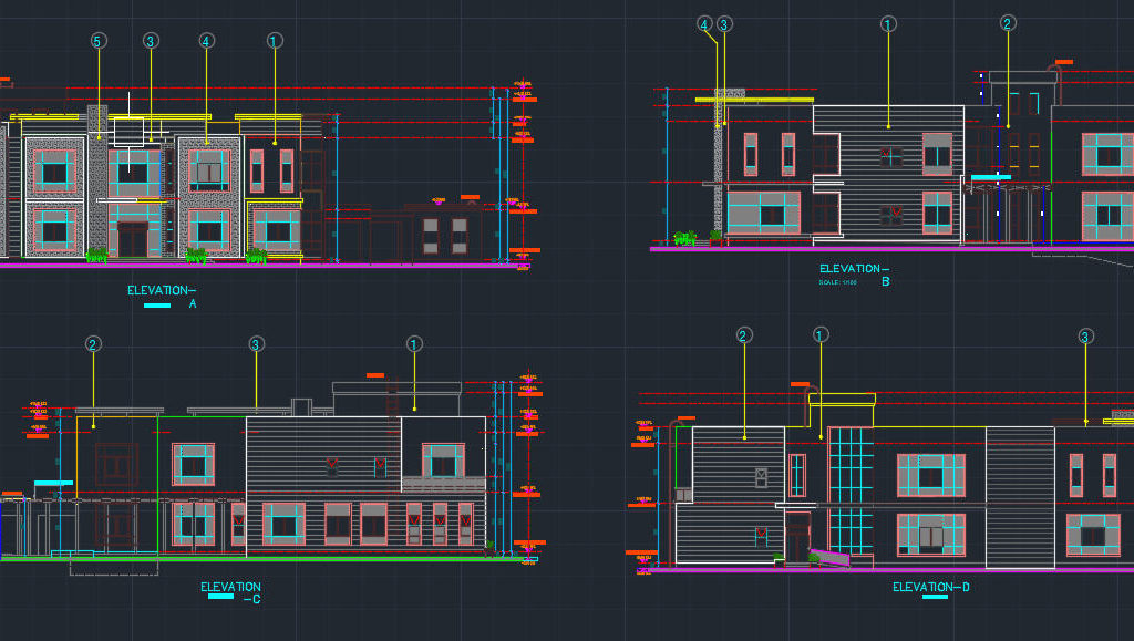 Modern Villa Cad Files Dwg Files Plans And Details