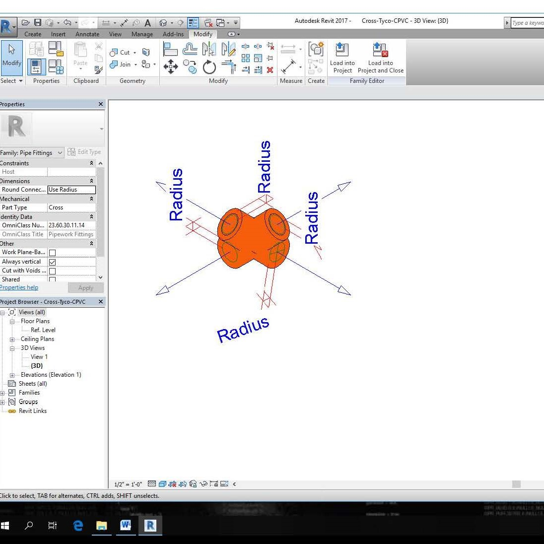 CPVC Fire Sprinkler Piping Fittings - Revit Files - CAD Files, DWG files,  Plans and Details