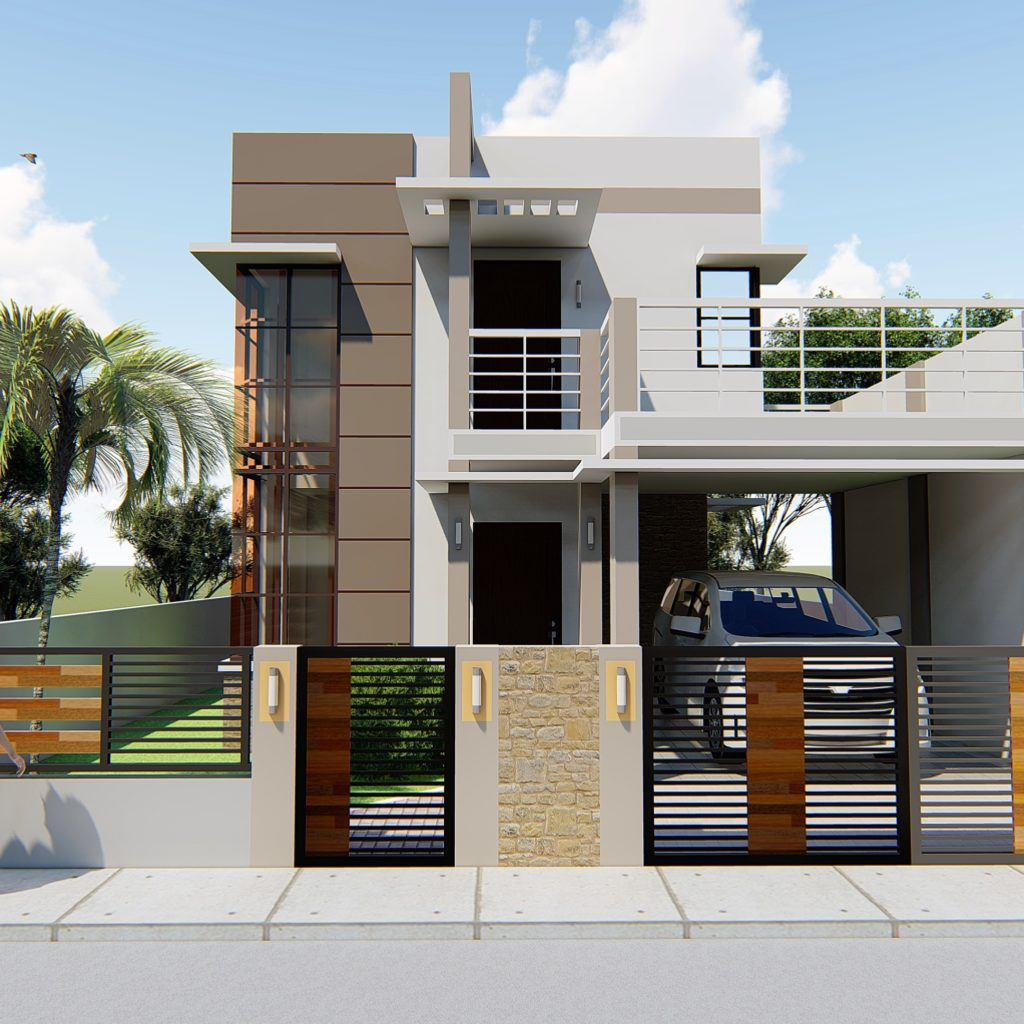 2-Storey Residential House Plan - CAD Files, DWG files ...