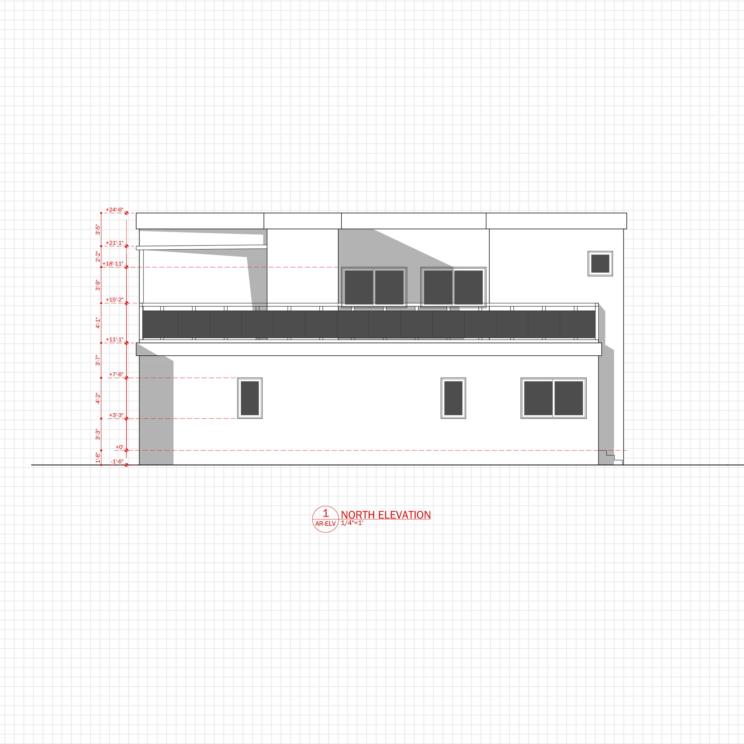 Modern House Office Architecture Plan With Floor Plan Section And Elevation Imperial Units Cad Files Dwg Files Plans And Details