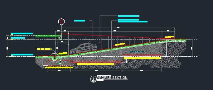 Ramp At Basement Details - CAD Files, DWG files, Plans and Details