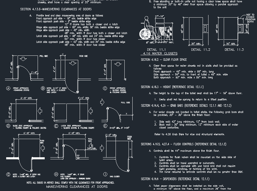 Accessibility Details Project Pages Cad Files Dwg