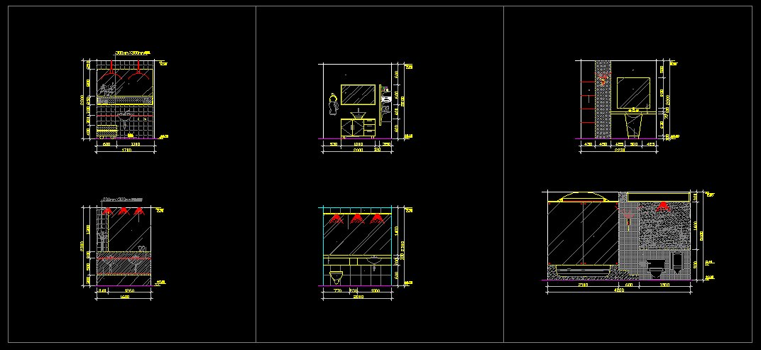 Toilet design template cad files dwg files plans and for Dwg templates free download