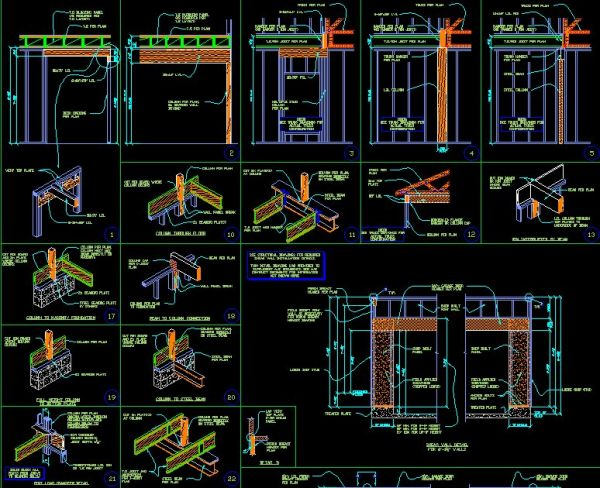 Framing Details CAD Files DWG Plans And Details