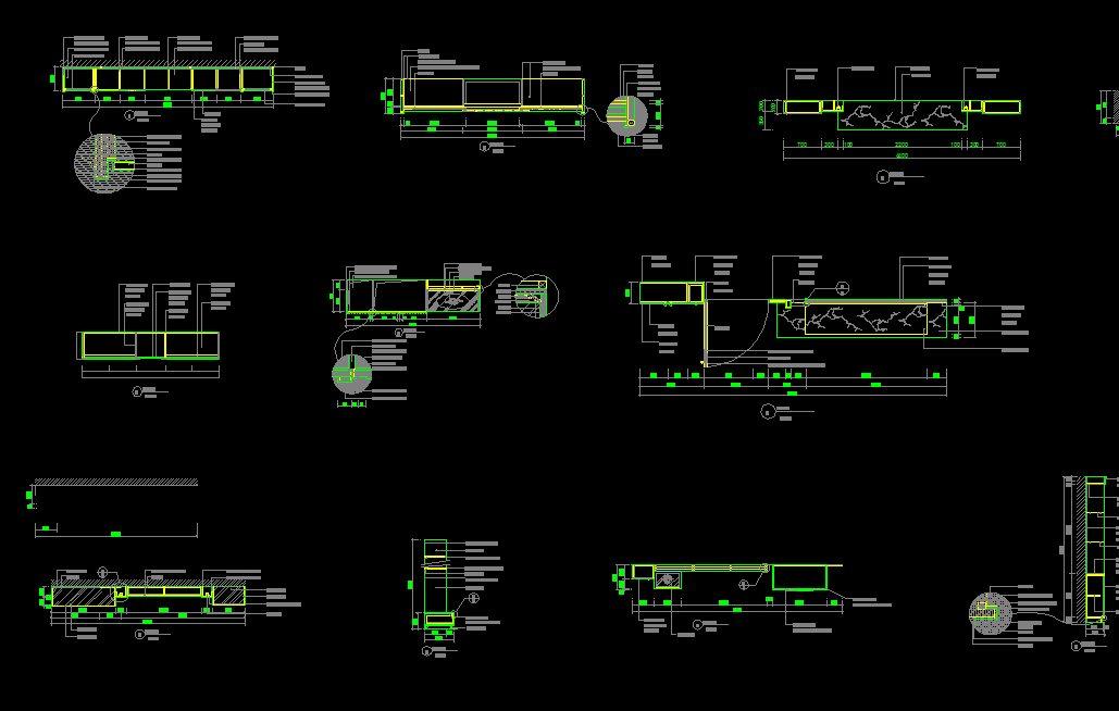 Interior Design Details Cad Files Dwg Files Plans And Details