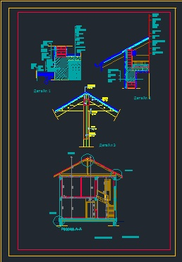 holiday house details - CAD Files, DWG files, Plans and Details