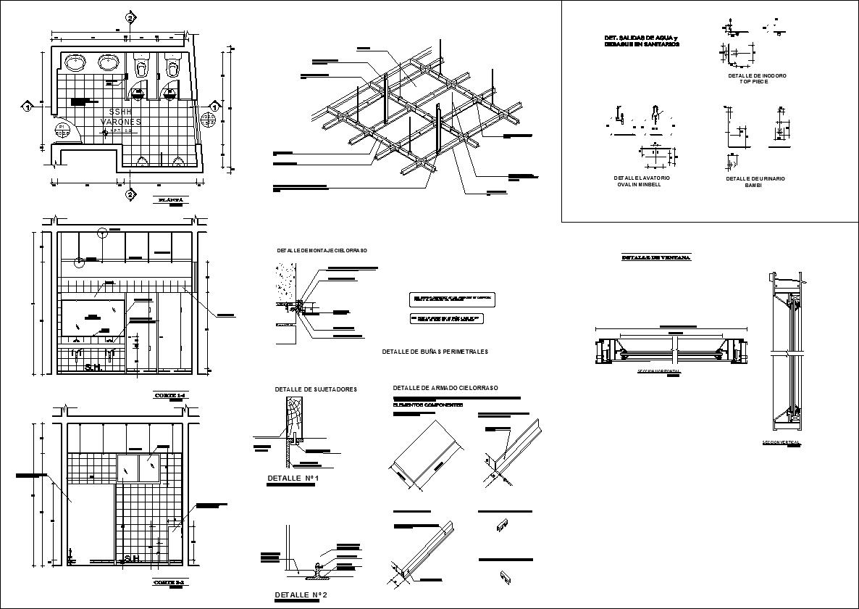 Ceiling Details V2】★ - CAD Files, DWG files, Plans and Details
