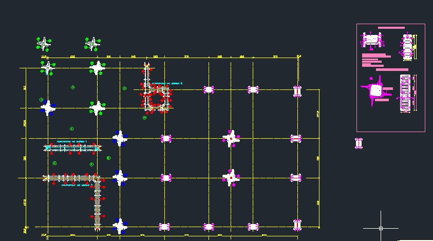 FORMWORK COLUMN CAD Files DWG files Plans and Details