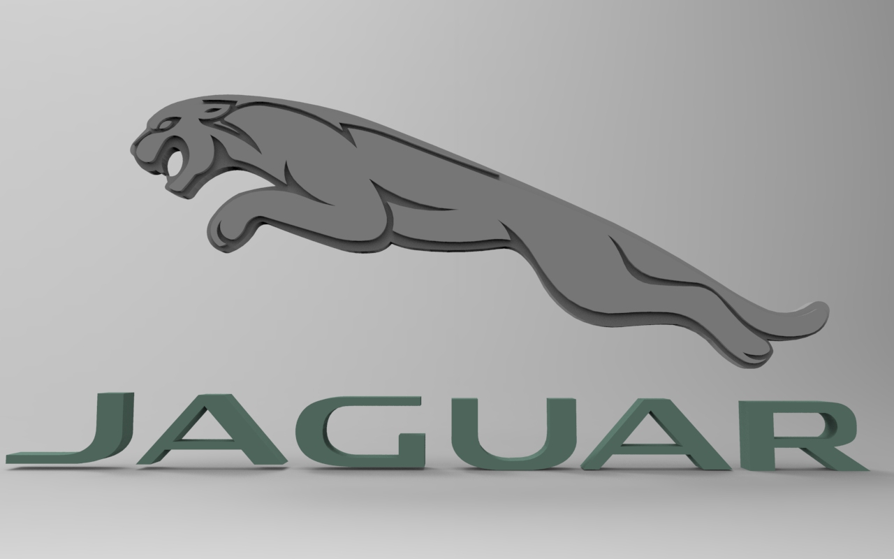 Jaguar Logo Cad Files Dwg Files Plans And Details
